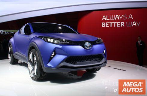 Toyota C-HR Concept: hacia una nueva era