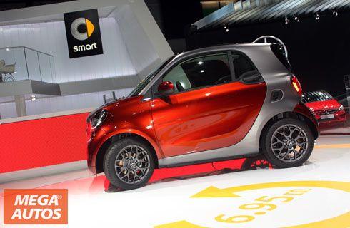 Nuevos smart fortwo y forfour, presentes en Francia