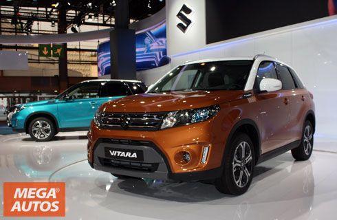 Nuevo Suzuki Vitara, presente en el Salón de París