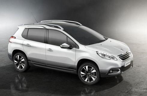 Peugeot comenzó a mostrar el 2008 brasileño