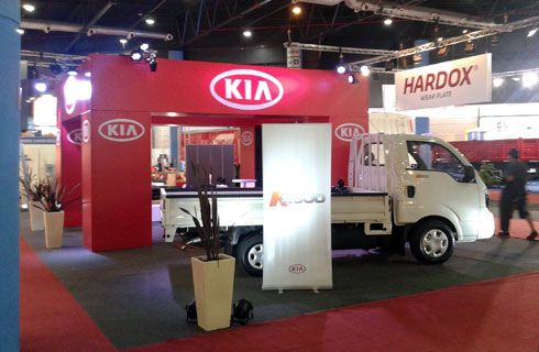 Con el K2500, Kia Argentina dice presente en Expo Transporte