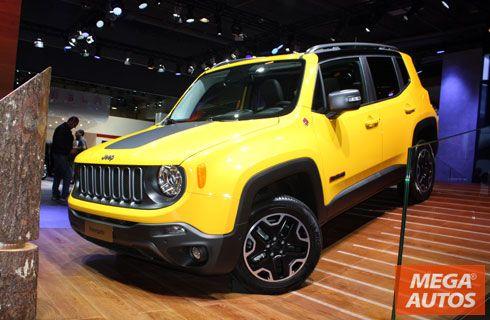 París 2014: anticipo del Jeep Renegade