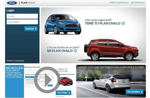 Ford presentó un nuevo sistema de venta online para Plan Ovalo