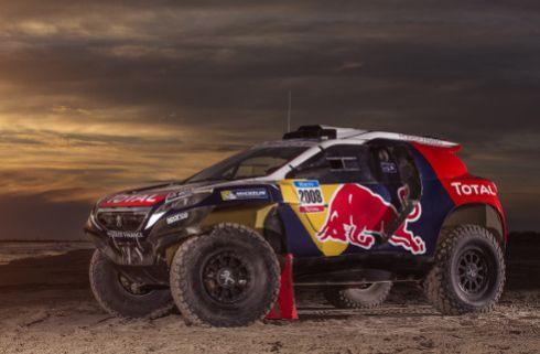 Así es el Peugeot 2008 DKR definitivo que correrá el Dakar