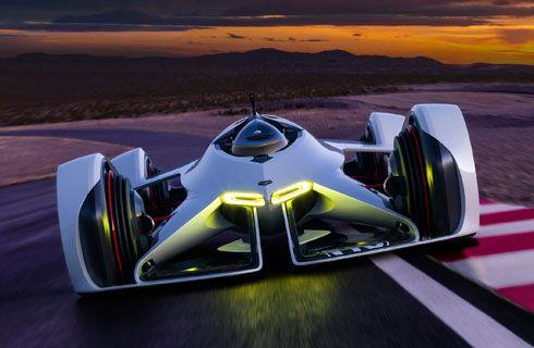 Chevrolet hizo realidad el Chaparral 2X Vision Gran Turismo