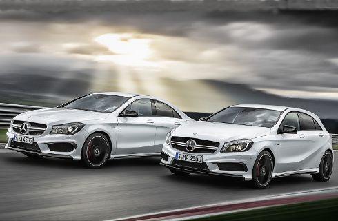 Mercedes-Benz A 45 AMG y CLA 45 AMG, a la venta en Argentina
