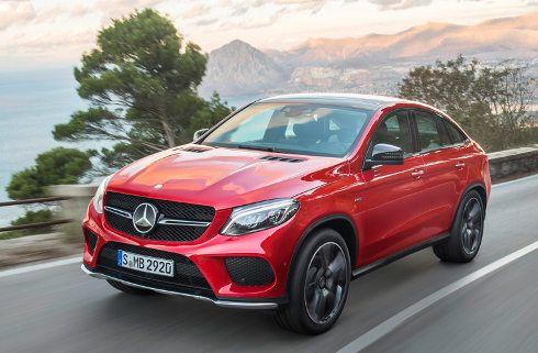 Mercedes-Benz GLE Coupé: crossover con acento sport