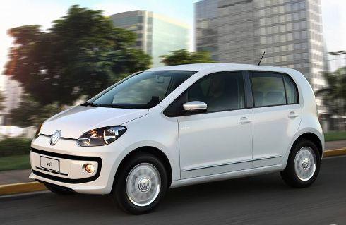 El VW Up! TSI se prepara en Brasil