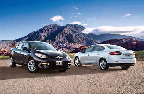 Renault Fluence, con más versiones de $ 253.000 a $ 275.000