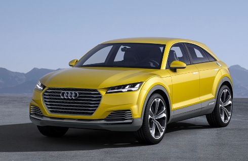 Audi TTQ: un SUV con estilo de cupé para 2017
