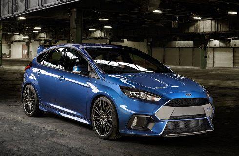 Ford Focus RS: máximo poder