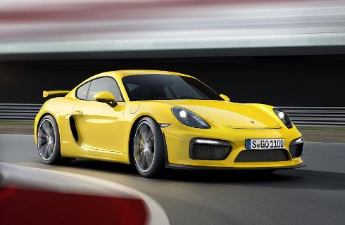 Porsche Cayman GT4: casi de carreras