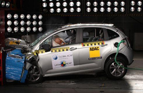 Citroën C3, con cuatro estrellas en Latin NCAP
