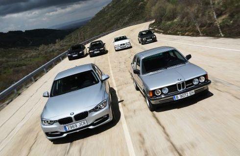El BMW Serie 3 cumplió 40 años