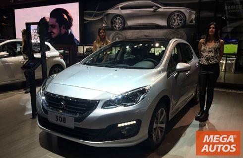 Peugeot estrenó los renovados 308 y 408