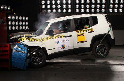 Jeep Renegade, con cinco estrellas de Latin NCAP