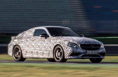Mercedes-AMG anticipa el Clase C Coupé