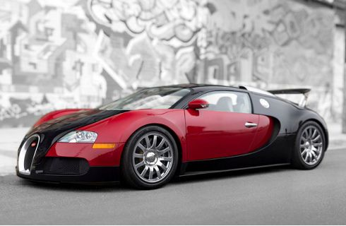El primer Bugatti Veyron busca nuevo dueño