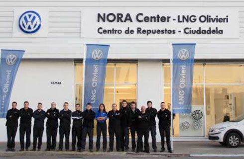 Volkswagen abre el primer centro de distribución de repuestos de Argentina