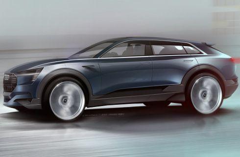 Audi quattro e-tron concept, el futuro SUV eléctrico