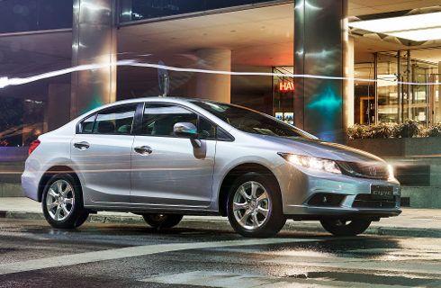 Control de estabilidad para el Honda Civic 2016