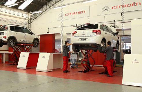 Citroën Service Racing, el service en apenas 35 minutos