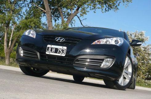 Prueba Hyundai Coupe Genesis 3.8 V6