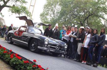 """""""Best of Show"""" de Autoclásica 2015 para un Mercedes Benz 300 SL 1955"""