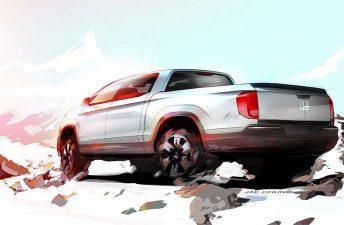 Honda anticipará su próxima pick up Ridgeline