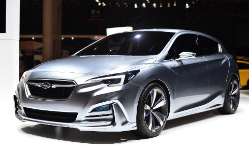 Subaru adelanta el futuro del Impreza hatchback