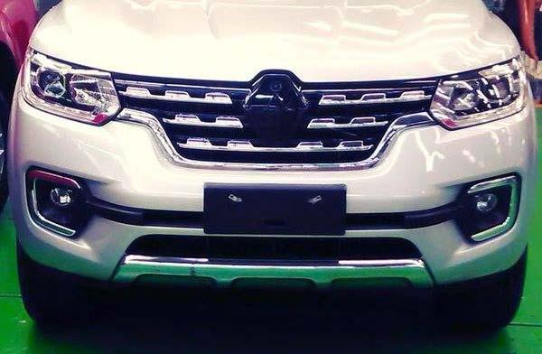 Renault Alaskan de producción, descubierta antes de tiempo
