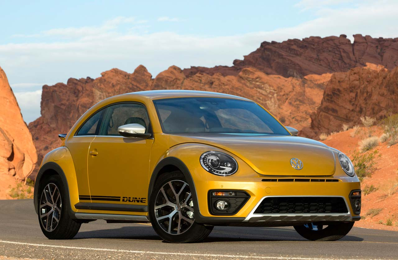 Volkswagen Beetle Dune, con un toque off road