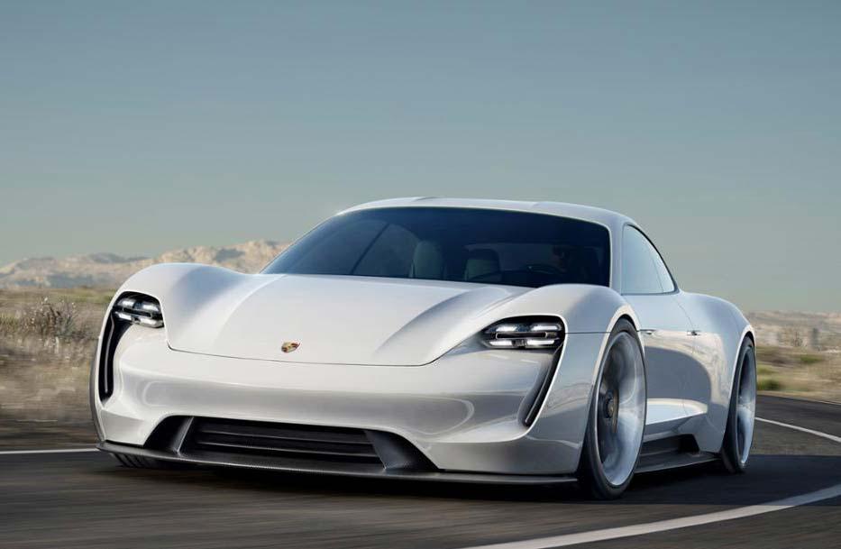 Porsche Mission E, de producción antes de 2020