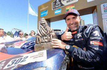 El Team Peugeot Total, un gran campeón del Dakar 2016
