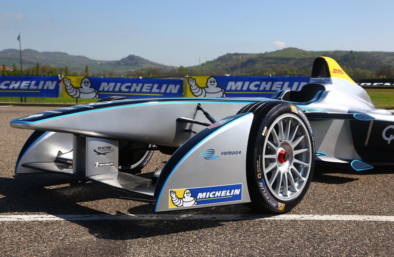 Michelin, proveedor oficial de la Fórmula E