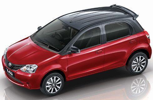 Un Toyota Etios exclusivo para India