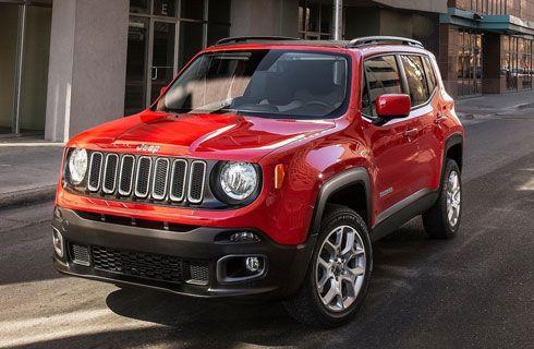 El Jeep Renegade se metió en el Top 5 de ventas en Brasil