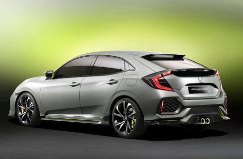 Honda anticipa el nuevo Civic Hatchback