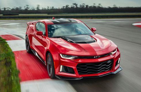 Más carácter para el nuevo Chevrolet Camaro