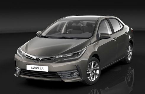 Cambios para el Toyota Corolla