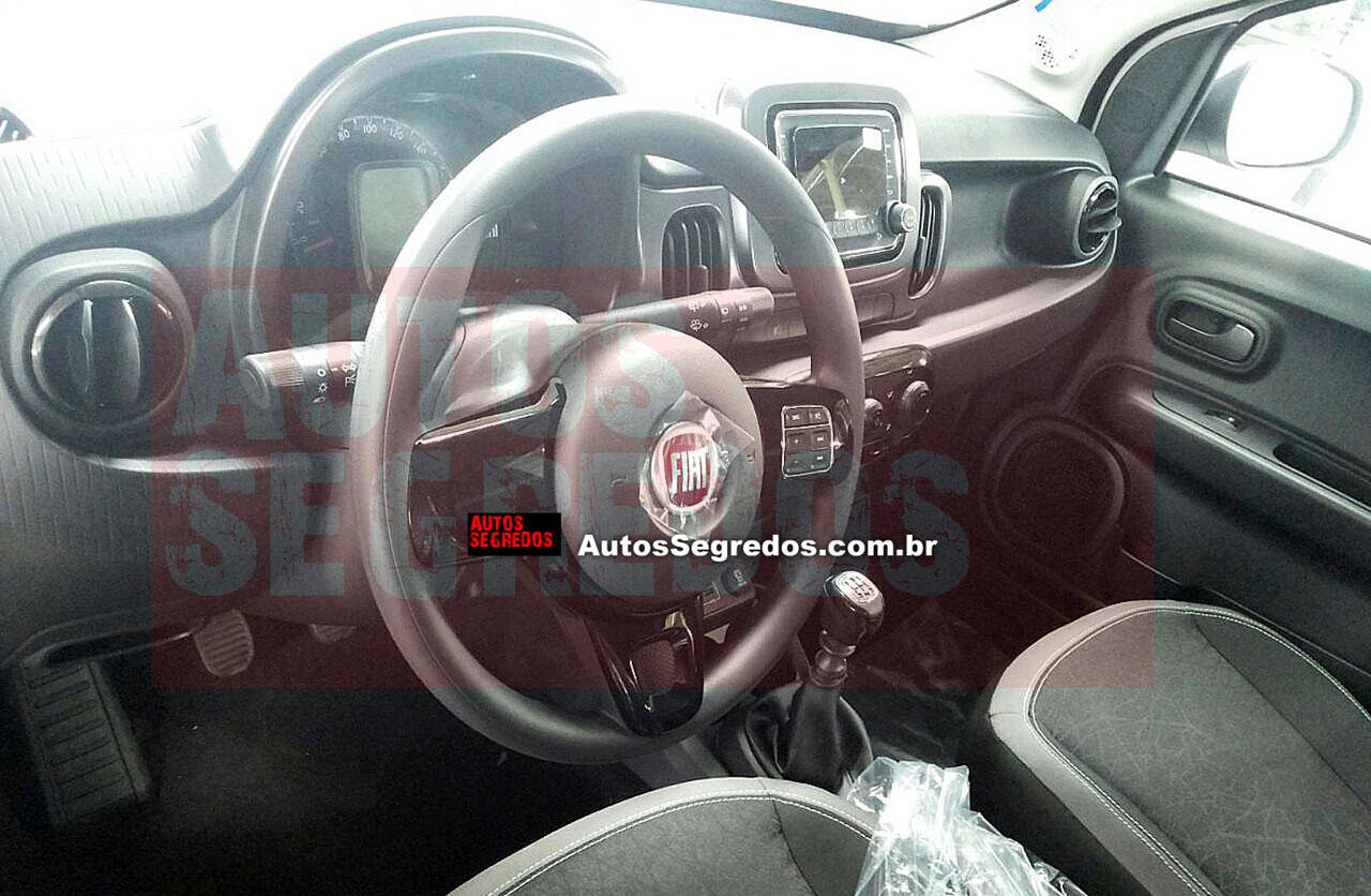 Fiat Mobi: ahora descubrieron el interior