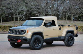 Jeep Comanche: así sería un Renegade pick up