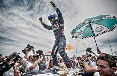 Facundo Chapur se consagró a bordo de su 308 con el Team Peugeot Total