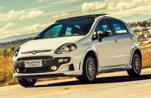El Fiat Punto sumó la serie Blackmotion
