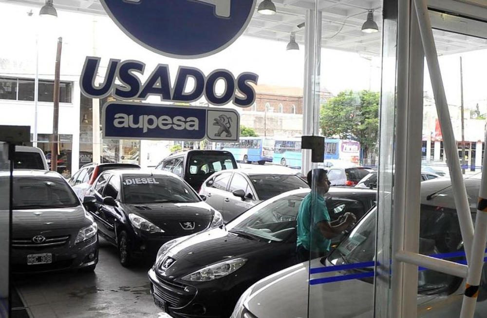 La crisis del auto usado se sigue profundizando