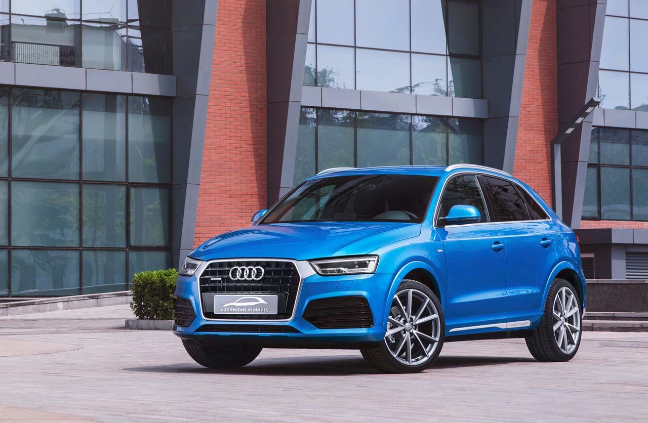 "Basado en un Q3, se presentó el ""Audi connected mobility"""