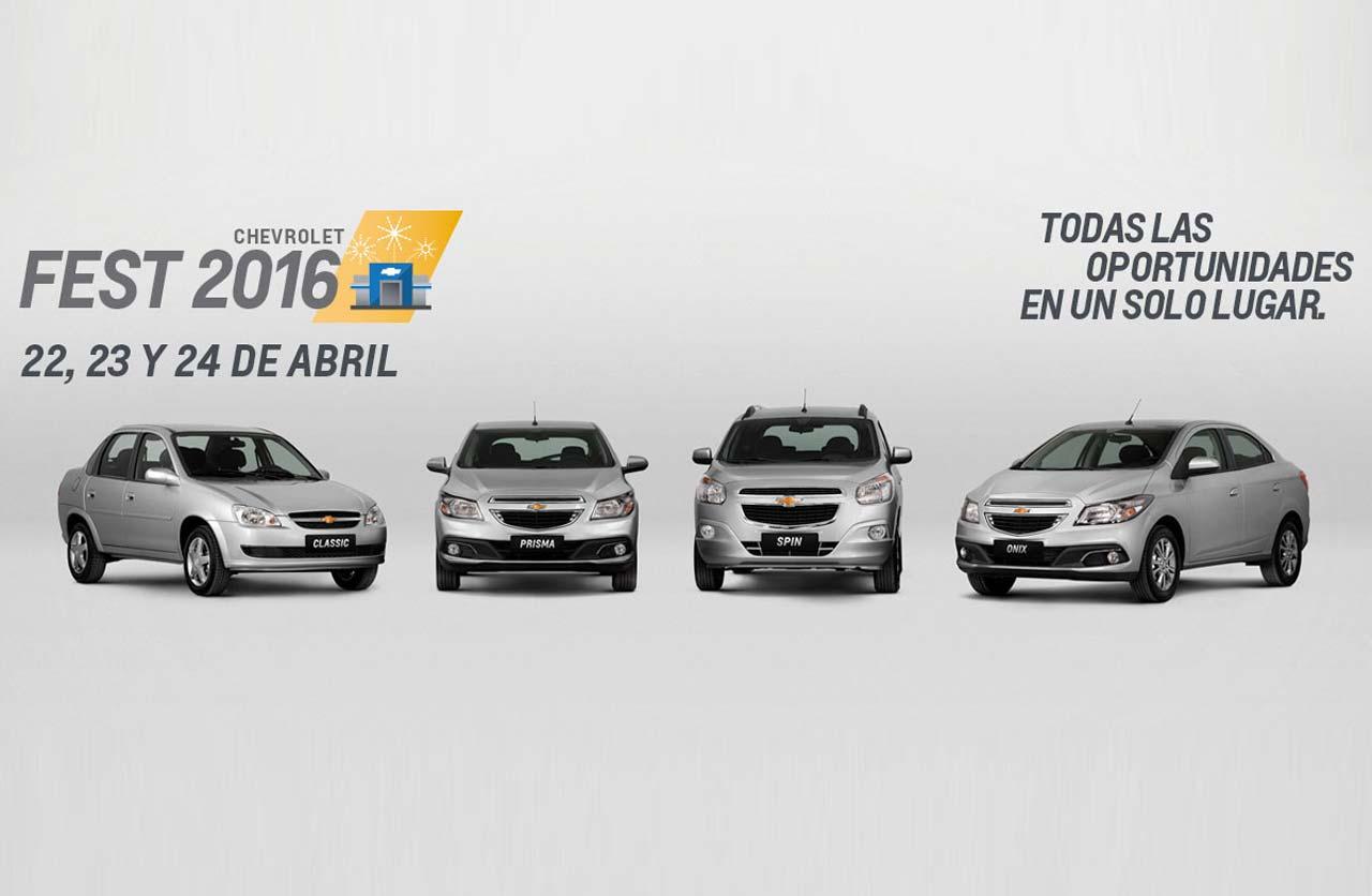 Arrancó el Chevrolet Fest: del 22 al 24 de abril