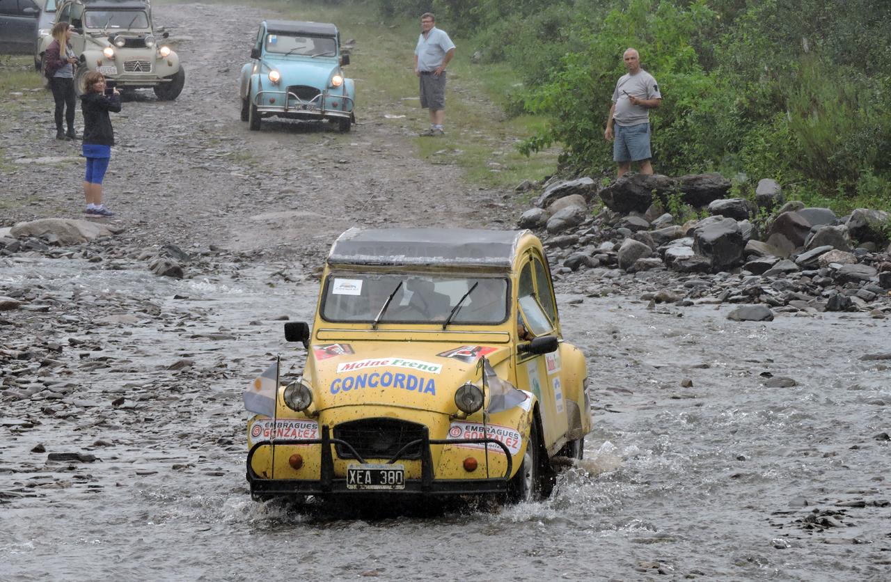 """Citroën presente con su historia en el """"Tour del Tucumán 2016"""""""