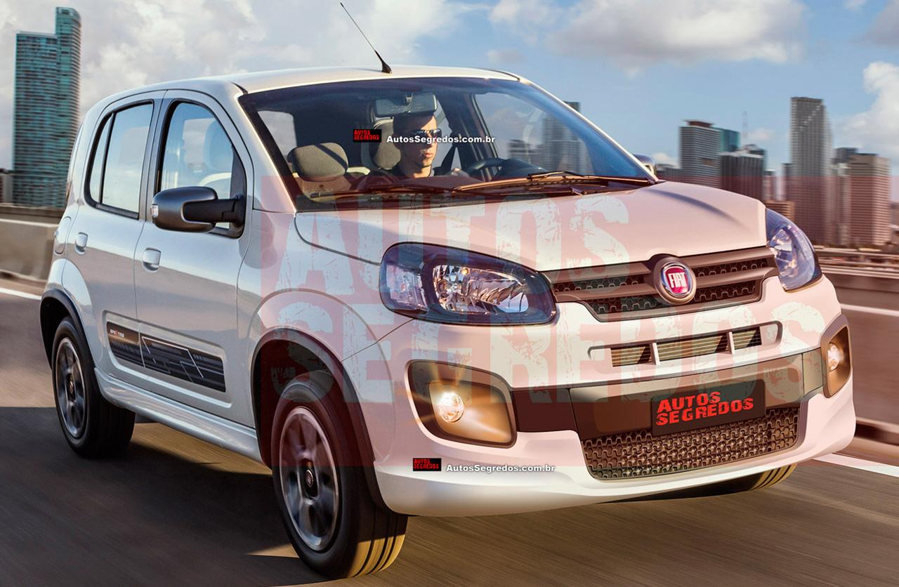 Brasil: anticipan el nuevo restyling del Fiat Uno
