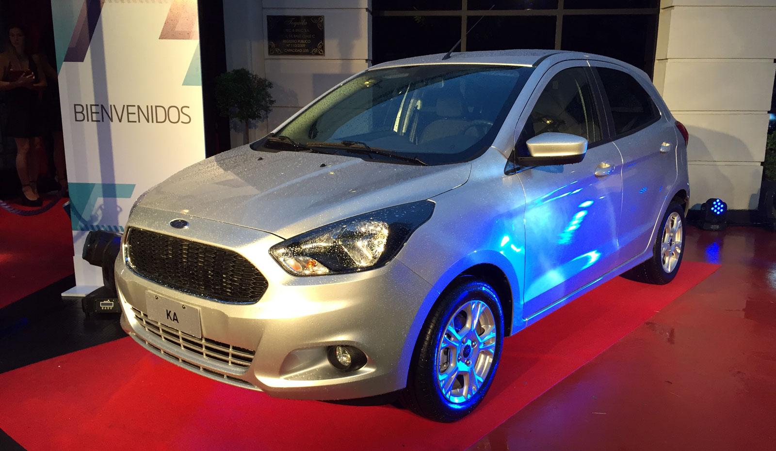 El nuevo Ford Ka llegó a la Argentina